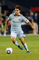 Graham Susi (8) midfielder Sporting KC in action...Sporting KC defeated San Jose Earthquakes 1-0 at LIVESTRONG Sporting Park, Kansas City ,Kansas,...