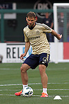 22 May 2013:  Branislav Ivanovic (2)(SRB) of Chelsea.  Chelsea F.C. practice session in preparation for an exhibition match against Manchester City at Busch Stadium in Saint Louis, Missouri.