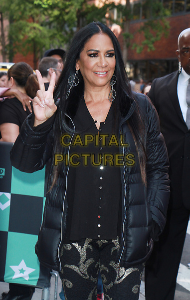 NEW YORK, NY - OCTOBER 23: Sheila E. at AOL's Build Series in New York City on October 23, 2017. <br /> CAP/MPI/RW<br /> &copy;RW/MPI/Capital Pictures
