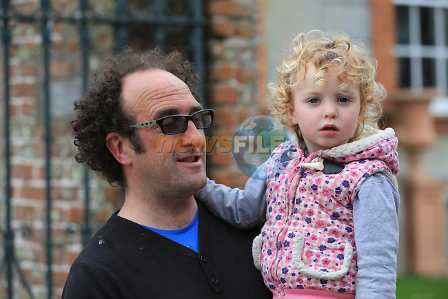 Robert and Luka Rooney.at Beaulieu Sounds Beautiful..Picture:  www.newsfile.ie ..