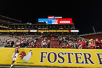 SANTA CLARA, CA - December 26, 2015: The 2015 Foster Farms Bowl. The Nebraska Cornhuskers vs the UCLA Bruins at Levi Stadium. Final score Nebraska Cornhuskers 37, UCLA Bruins 29.