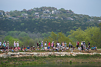 Bubba Watson (USA) makes his way around the lake to the 11th green during day 5 of the World Golf Championships, Dell Match Play, Austin Country Club, Austin, Texas. 3/25/2018.<br /> Picture: Golffile | Ken Murray<br /> <br /> <br /> All photo usage must carry mandatory copyright credit (© Golffile | Ken Murray)