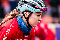Picture by Alex Whitehead/SWpix.com - 02/02/2018 - Cycling - 2018 UCI Cyclo-Cross World Championships - Valkenburg, The Netherlands - Great Britain's Evie Richards in action during a practice session.