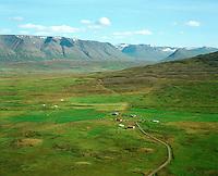 Enni séð til austurs, Viðvíkurhreppur / Enn viewing east, Vidvikurhreppur