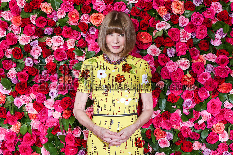 NEW YORK, NY - JUNE 10:  Anna Wintour attends the 72nd Annual Tony Awards at Radio City Music Hall on June 10, 2018 in New York City.  (Photo by Walter McBride/WireImage)