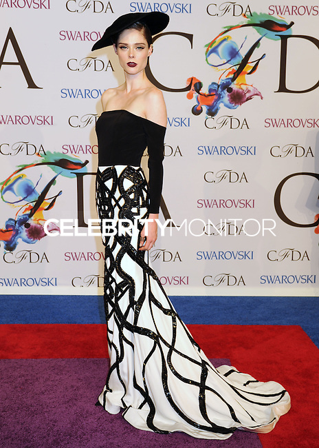 NEW YORK CITY, NY, USA - JUNE 02: Coco Rocha arrives at the 2014 CFDA Fashion Awards held at Alice Tully Hall, Lincoln Center on June 2, 2014 in New York City, New York, United States. (Photo by Celebrity Monitor)