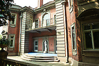 The Benjamin Morris family estate - now the Ruijin Hotel, -is comprised of four houses, numerous outbuildings and ornate gardens in the French Concession area of Shanghai.  The Morris family owned the North China Daily News, the oldest English-language newspaper in China.  Prior to opening its doors to the public, the hotel was the official guesthouse of the Shanghai regional government. The first mayor of Shanghai chose the Ruijin as both his office and residence. Leaders of many countries also stayed here: President Soekarno of Indonesia, the Prime Minister of India, President Ho Chi Min of Vietnam,  US President Nixon, as well as other government emissaries. In 1979 the Shanghai  city government decided to open the hotel to the public. Since that time the hotel has hosted many famous scholars, business leaders, and tourists from all over the world.