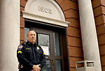 TORRINGTON, CT-121917JS01---Torrington police officer Sgt. Steve Rousseau will be retiring from the department at the end of the year. <br /> Jim Shannon Republican-American
