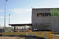 A Caterpillar plant in East Peoria, Illinois on February 7, 2009.  The Peoria-based company announced plans to layoff 20,000 workers due to the economic downturn and global recession.