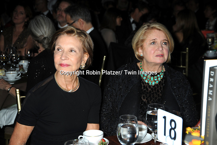Lynn Nesbit and Shirley Lord Rosenthal attends The 2011 National Book Awards Gala on November 16, 2011 at Cipriani Wall Street in New York City.