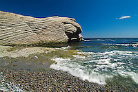 Shoreline of the Atlantic Ocean<br /> Forillon National Park<br /> Quebec<br /> Canada