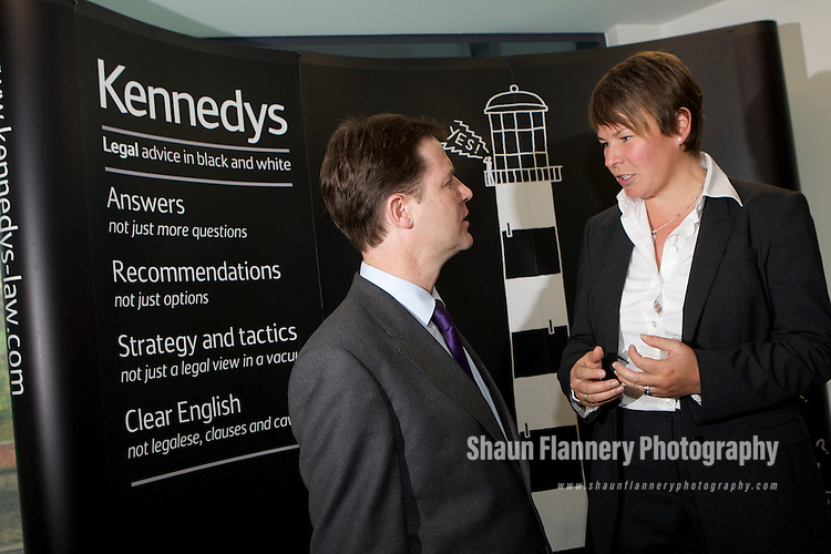 Pix: Shaun Flannery/shaunflanneryphotography.com...COPYRIGHT PICTURE>>SHAUN FLANNERY>01302-570814>>07778315553>>..1st October 2010...........Opening of Kennedys new offices, Sheffield by the Deputy Prime Minister Nick Clegg..Suzanne Liversidge, Head of Sheffield Office.