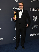 05 January 2020 - Beverly Hills, California - Joaquin Phoenix. 21st Annual InStyle and Warner Bros. Golden Globes After Party held at Beverly Hilton Hotel. Photo Credit: Birdie Thompson/AdMedia