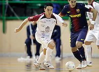 Caja Segovia's Borja Diaz during Spanish National Futsal League match.November 24,2012. (ALTERPHOTOS/Acero) /NortePhoto