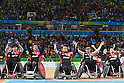 Japan team group (JPN), <br /> SEPTEMBER 16, 2016 - WheelChair Rugby : <br /> Preliminary Round Group B match Japan 56-57 USA <br /> at Carioca Arena 1<br /> during the Rio 2016 Paralympic Games in Rio de Janeiro, Brazil.<br /> (Photo by AFLO SPORT)