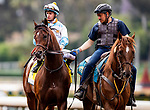 MAY 27: Lone Sailor and Flavien Prat win the Gold Cup at Santa Anita Park in Arcadia, California on May 27, 2019. Evers/Eclipse Sportswire/CSM