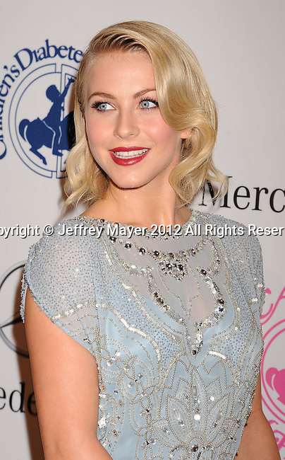 BEVERLY HILLS, CA - OCTOBER 20: Julianne Hough arrives at the 26th Anniversary Carousel Of Hope Ball presented by Mercedes-Benz at The Beverly Hilton Hotel on October 20, 2012 in Beverly Hills, California.