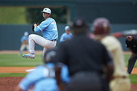 North Carolina Tar Heels relief pitcher Josh Hiatt (31) in action against the Florida State Seminoles in the 2017 ACC Baseball Championship Game at Louisville Slugger Field on May 28, 2017 in Louisville, Kentucky. The Seminoles defeated the Tar Heels 7-3. (Brian Westerholt/Four Seam Images)