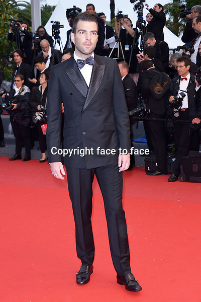 """Zachary Quinto attending the """"ALL IS LOST"""" Premiere during the 66th annual International Cannes Film Festival in Cannes, France, 22th May 2013. Credit: Timm/face to face"""