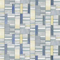 Kente, a hand-cut glass mosaic,  shown in Agate, Opal, Moonstone and Chalcedony, is part of the Erin Adams Collection for New Ravenna Mosaics.<br /> Take the next step: prices, samples and design help, http://www.newravenna.com/showrooms/