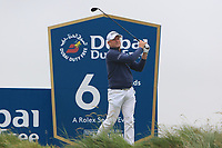 Jamie Donaldson (WAL) on the 6th tee during Round 2 of the Irish Open at LaHinch Golf Club, LaHinch, Co. Clare on Friday 5th July 2019.<br /> Picture:  Thos Caffrey / Golffile<br /> <br /> All photos usage must carry mandatory copyright credit (© Golffile | Thos Caffrey)