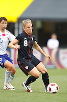 14 MAY 2011: USA Women's National Team forward Amy Rodriguez (8) during the International Friendly soccer match between Japan WNT vs USA WNT at Crew Stadium in Columbus, Ohio.
