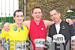 JJ Curran, Paul Turner Kenmare and Paul Gosney Listry delighted to have finished the Puck Warriors Duathlon in Killorglin on Saturday