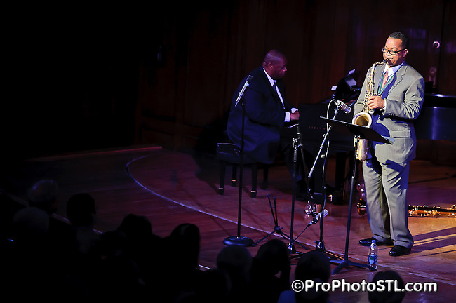 Saxophonist Victor Goines in concert at The Sheldon in St. Louis, MO on Nov 13, 2010.