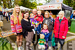 Enjoying the afternoon in the Town Park at the Féile na mBláth on Saturday. <br /> L to r: Anita, Maureen and Jade Clifford, TJ Cronin, Kyle Hussey, Helen Cronin, Éabha Hussey, Buster and Nellie Cronin.