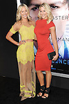 Cynthia Daniel and Brittany Daniel arriving at the Transcendence Los Angeles Premiere held at the Regency Village Theater April 10, 2014.