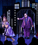 "Courtenay Collins and Josh Lamon during the Broadway Opening Night Curtain Call of ""The Prom"" at The Longacre Theatre on November 15, 2018 in New York City."