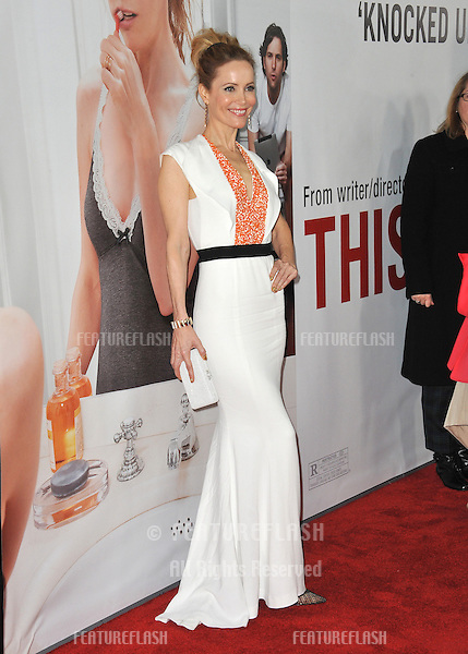 "Leslie Mann at the world premiere of her new movie ""This Is 40"" at Grauman's Chinese Theatre, Hollywood..December 12, 2012  Los Angeles, CA.Picture: Paul Smith / Featureflash"
