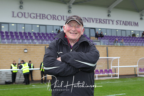 9.5.2012. Loughborough, England.  .Students manager Haydn Colety in action between Loughborough Students in their  match with The Barbarian RFC club to celebrate the opening of the new Loughborough University Stadium at Hollywell Park.