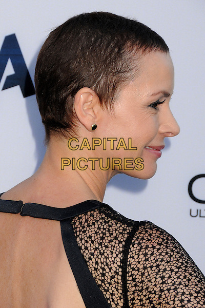 Embeth Davidtz<br /> &quot;Paranoia&quot; Los Angeles Premiere held at the Directors Guild of America, West Hollywood, California, USA, 8th August 2013.<br /> portrait headshot side profile black cut out <br /> CAP/ADM/BP<br /> &copy;Byron Purvis/AdMedia/Capital Pictures