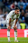 Lucas Vazquez of Real Madrid reacts during the La Liga 2018-19 match between Real Madrid and Rayo Vallencano at Estadio Santiago Bernabeu on December 15 2018 in Madrid, Spain. Photo by Diego Souto / Power Sport Images