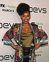 "LOS ANGELES - MARCH 2: Angela Lewis attends the premiere of the new FX limited series ""Devs"" at ArcLight Cinemas on March 2, 2020 in Los Angeles, California. (Photo by Frank Micelotta/FX Networks/PictureGroup)"