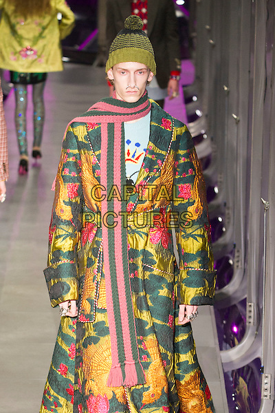 GUCCI<br /> at Milan Fashion Week FW 17 18<br /> in Milan, Italy  February 2017.<br /> CAP/GOL<br /> &copy;GOL/Capital Pictures