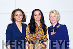 Aoife Nolan, Oonagh McGregor and Deirdre Leahy at the Fashion Extrazganza show in the Hotel Europe on Tuesday night