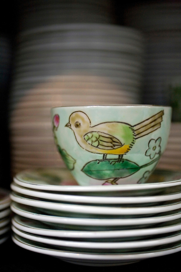 Karolina Lehman?s Porcelain store in Beijing