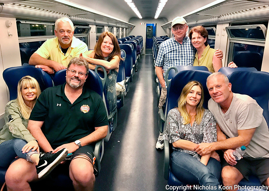 Four couples, three Air B and B&rsquo;s and Italy for 15 days.  This was indeed a trip of a lifetime.  Back Row (L to R) Kim Jensen, Carol Krivulka, Nick Koon, Colleen Koon.  Front Row <br /> (L to R) Ronna Sorenson, Ken Sorenson, Rachel Cantella -  McNamara and Aaron Pederson.