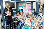 SHANAKILL Family Resource Centre, Rahoonane Community Centre and Kerry Travellers Health and Community Development Project organised a coffee morning at Shanakill FRC on Thursday. Pictured Maeve Fitzgerald, Marie Keating Foundation with Aisling McCarthy, Geraldine McCarthy, Chris O'Brien, Pa Dylan O'Brien