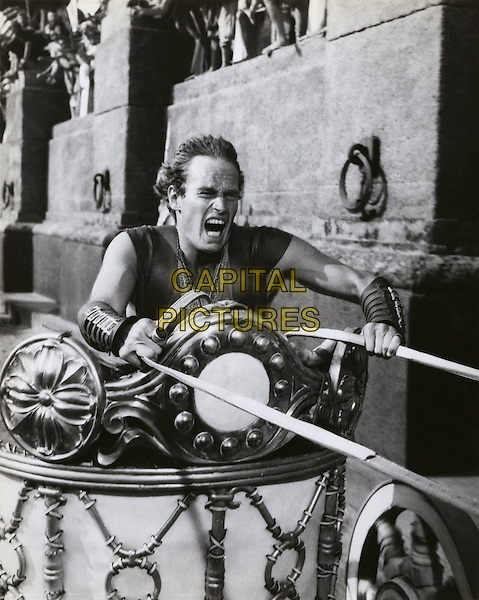 Charlton Heston.in Ben-Hur.*Filmstill - Editorial Use Only*.CAP/PLF.Supplied by Capital Pictures.