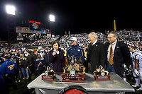 San Francisco, California - January 9, 2010: Kraft Fight Hunger Bowl in San Francisco, California, January 9, 2011. Nevada defeated Boston College 20-13.
