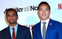 www.acepixs.com<br /> <br /> May 11 2017, New York City<br /> <br /> Comedian Aziz Ansari (L) and Alan Yang arriving at the premiere of  'Master Of None' Season 2 premiere at SVA Theatre on May 11, 2017 in New York City.<br /> <br /> By Line: Nancy Rivera/ACE Pictures<br /> <br /> <br /> ACE Pictures Inc<br /> Tel: 6467670430<br /> Email: info@acepixs.com<br /> www.acepixs.com