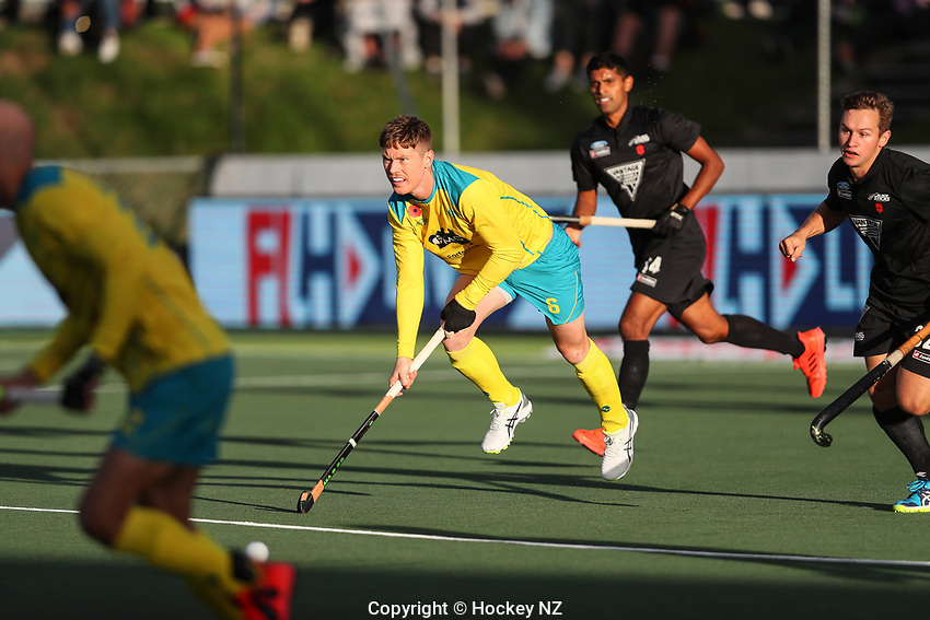 Pro League Hockey, Vantage Blacksticks Men v Australia, ANZAC test. North Harbour Hockey Stadium, Auckland, New Zealand. Thursday 25 April 2019. Photo: Simon Watts/Hockey NZ