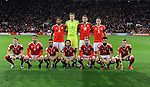 Wales Team Group before the start of the FIFA World Cup Qualifying match at the Cardiff City Stadium, Cardiff. Picture date: November 12th, 2016. Pic Robin Parker/Sportimage