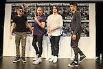 The Wanted, May 19, 2013 : Max George, Tom Parker,Jay McGuiness, Siva Kaneswaran of The Wanted attend press conference on 19 May Tokyo Japan. (Photo by Mooto Naka/AFLO)