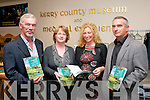 "BOOK LAUNCH: John Sheehan, Helen O'Carroll, Denise Maher and Michael Connolly, who were present at the launch of their latest book ""The Unquiet Grave"" last Friday night at the Kerry County Museum, Ashe Hall, Denny Street, Tralee."