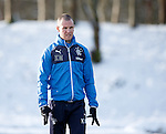Kenny Miller having a stroll in the snow