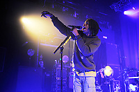 LONDON, ENGLAND - FEBRUARY 5: Daniel Ceasar performing at KOKO on February 5, 2018 in London, England.<br /> CAP/MAR<br /> &copy;MAR/Capital Pictures